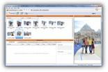 Оператор просто перетаскивает нужные фотографии на вкладку заказываемого формата.